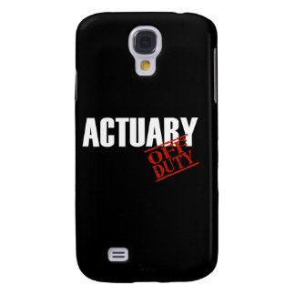 Off Duty Actuary Galaxy S4 Case
