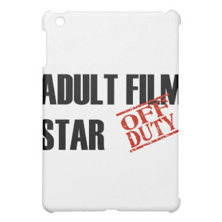 OFF DUTY Adult Film Star Cover For The iPad Mini