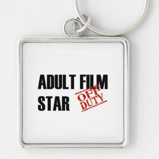OFF DUTY ADULT FILM STAR LIGHT KEYCHAIN