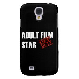 OFF DUTY Adult Film Star Samsung Galaxy S4 Case
