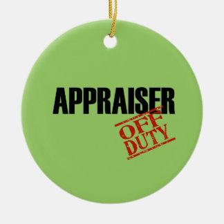 Off Duty Appraiser Christmas Tree Ornament