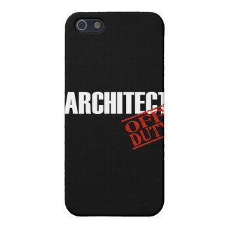 Off Duty Architect iPhone 5/5S Cases