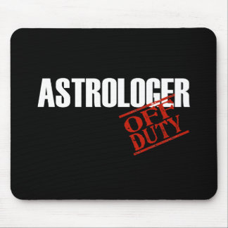 OFF DUTY ASTROLOGER DARK MOUSE PAD