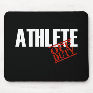 OFF DUTY ATHLETE DARK MOUSE PAD