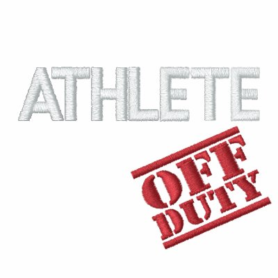 Off Duty Athlete Embroidered Hoody