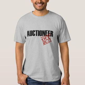 OFF DUTY AUCTIONEER TEE SHIRT
