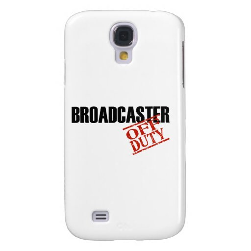 OFF DUTY Broadcaster Galaxy S4 Cases