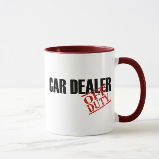 Off Duty Car Dealer Mug