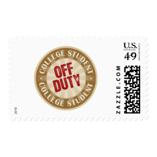 Off Duty College Student Stamps