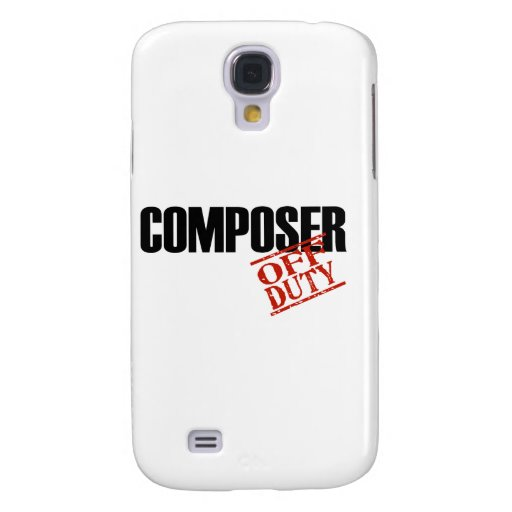OFF DUTY Composer Galaxy S4 Covers