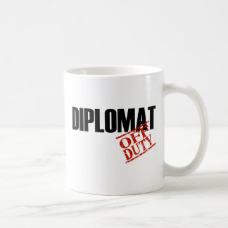 Off Duty Diplomat Coffee Mug