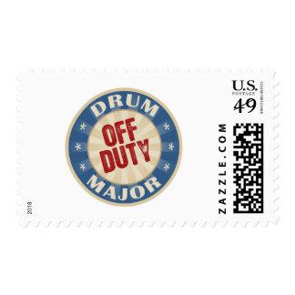 Off Duty Drum Major Stamps