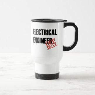 Off Duty Electrical Engineer 15 Oz Stainless Steel Travel Mug