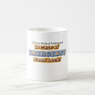 Off Duty EMERGENCY Coffee Mug