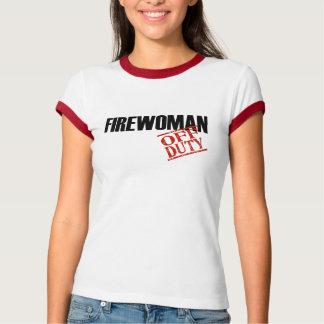 Off Duty Firewoman T-Shirt