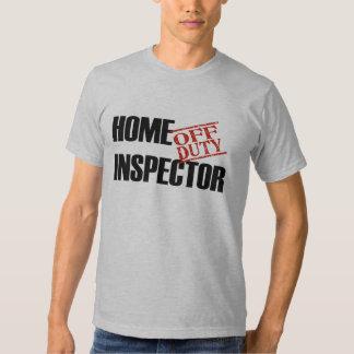 OFF DUTY HOME INSPECTOR SHIRT