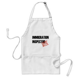 OFF DUTY IMMIGRATION INSPECTOR LIGHT ADULT APRON