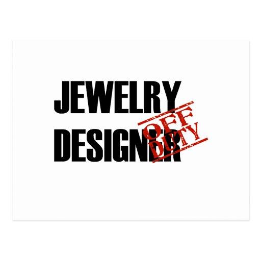 OFF DUTY JEWELRY DESIGNER LIGHT POST CARDS