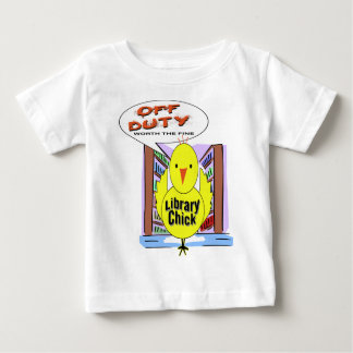 Off Duty Librarian - Worth The Fine Baby T-Shirt