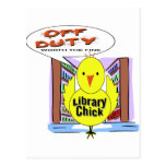 Off Duty Librarian - Worth The Fine Postcards