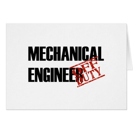 OFF DUTY MECH ENGINEER LIGHT CARD