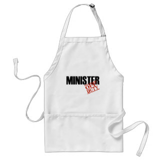 OFF DUTY MINISTER LIGHT ADULT APRON