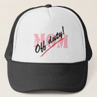 Off Duty Mom Trucker Hat