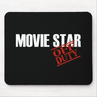 OFF DUTY MOVIE STAR DARK MOUSE PAD