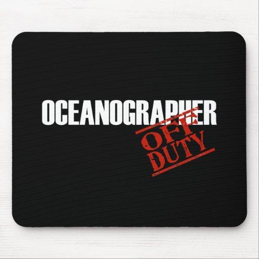 OFF DUTY OCEANOGRAPHER DARK MOUSE PADS