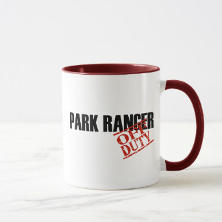 OFF DUTY Park Ranger Mug