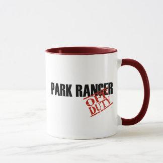 OFF DUTY Park Ranger Mug