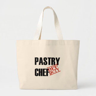 OFF DUTY PASTRY CHEF LIGHT JUMBO TOTE BAG