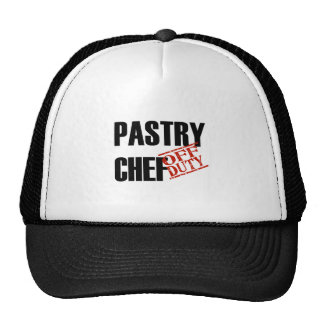 OFF DUTY PASTRY CHEF LIGHT TRUCKER HAT