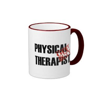 OFF DUTY Physical Therapist Ringer Mug