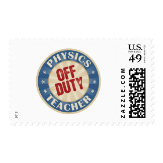 Off Duty Physics Teacher Stamps