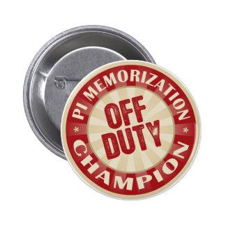 Off Duty Pi Memorization Button