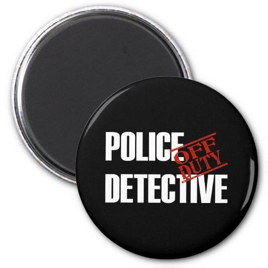 OFF DUTY POLICE DTCTV DARK MAGNET