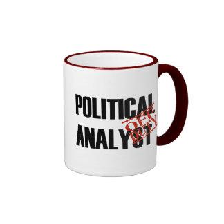 OFF DUTY Political Analyst Ringer Mug