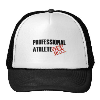 OFF DUTY PROF ATHLETE LIGHT TRUCKER HAT