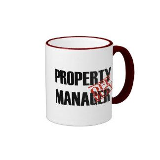 OFF DUTY PROPERTY MGR RINGER COFFEE MUG