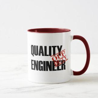 OFF DUTY QUALITY ENGINEER MUG