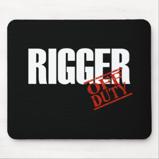 OFF DUTY RIGGER DARK MOUSE PAD