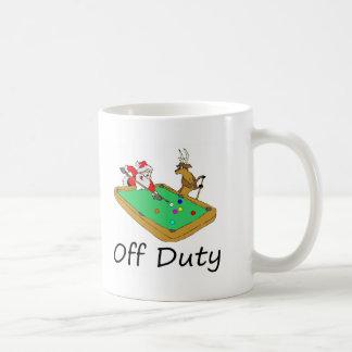 Off Duty Santa (Playing Pool) Mug
