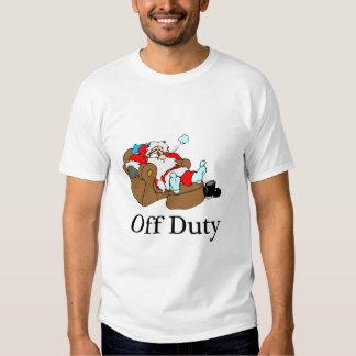 Off Duty Santa (Sleeping) T-Shirt