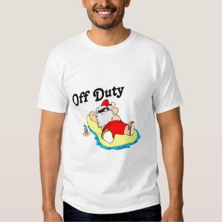 Off Duty Santa (Sunbathing) T-Shirt