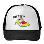 Off Duty Santa (Sunbathing) Trucker Hat