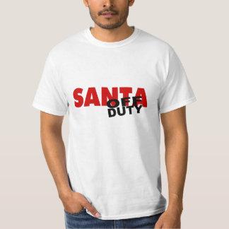 Off Duty Santa T-Shirt