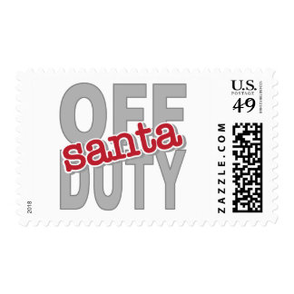Off Duty Santa Tee Shirts and Gifts Postage