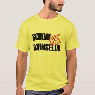 OFF DUTY SCHOOL COUNSELOR T-Shirt