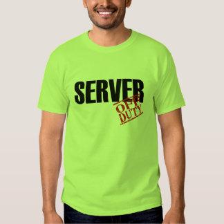 OFF DUTY SERVER T-SHIRT